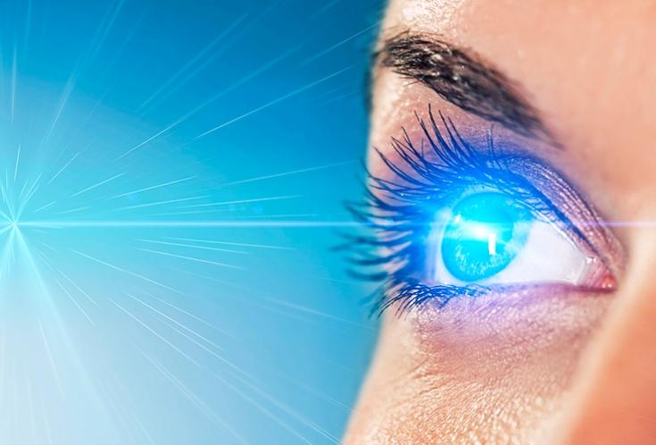 Линзы в очках при дальнозоркости